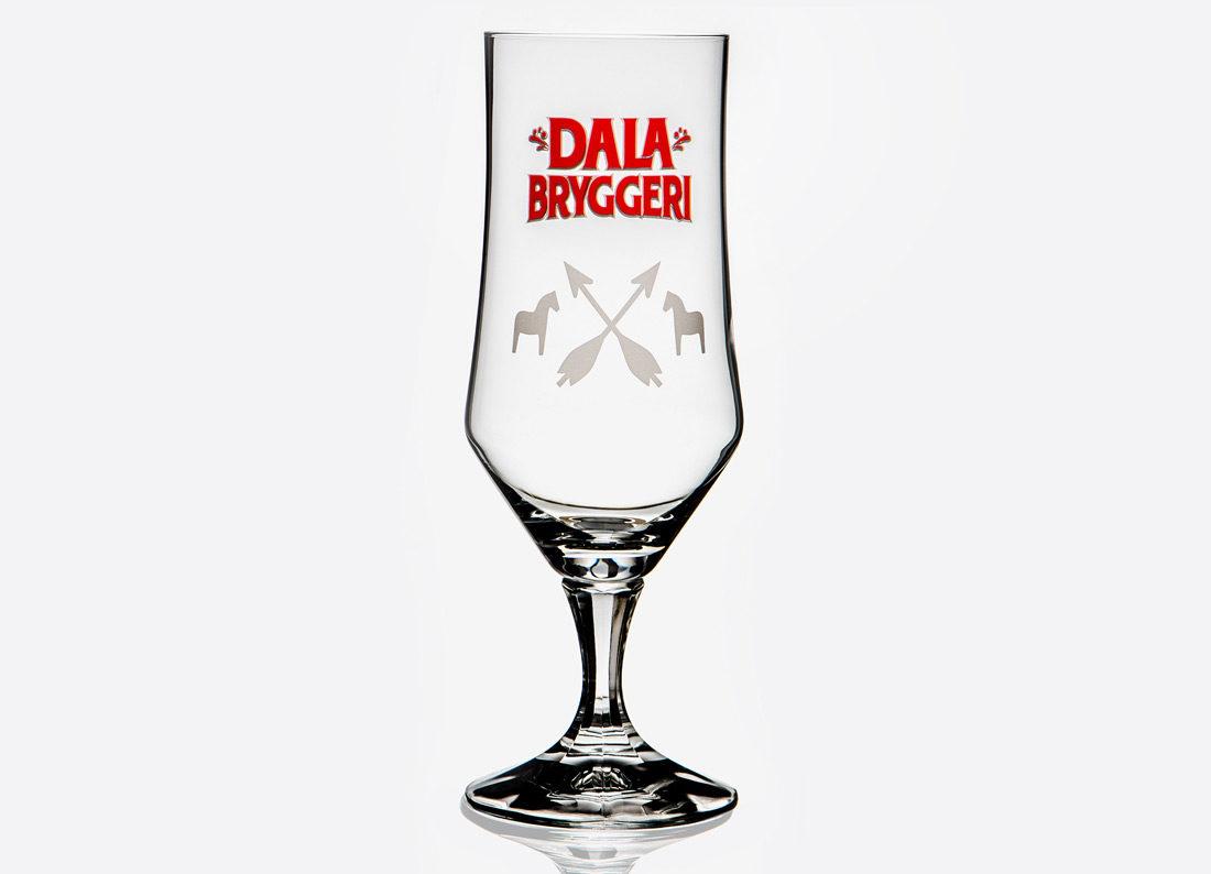 DalaBryggeris ölglas